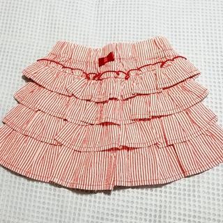 ムージョンジョン(mou jon jon)のキュロット ショートパンツ 100cm 美品 moujonjon(パンツ/スパッツ)