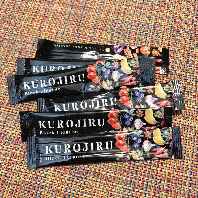 FABIUS(ファビウス)のKUROJIRU コスメ/美容のダイエット(ダイエット食品)の商品写真