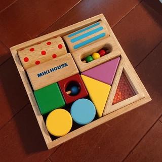 ミキハウス(mikihouse)のMIKI HOUSE  積み木  美品です~💖(積み木/ブロック)