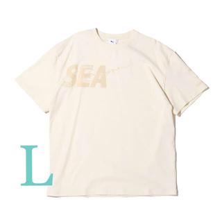 シー(SEA)のWIND AND SEA PUMA Lサイズ ウィンダンシー Tシャツ プーマ(Tシャツ/カットソー(半袖/袖なし))
