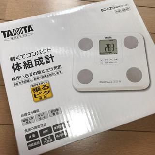 TANITA - タニタ 体組成計 BC-CZ01 ホワイト