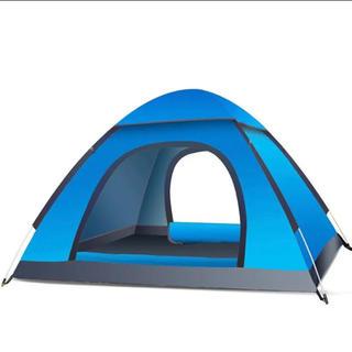 ワンタッチテント 3-4人用 サンシェードテント大空間 軽量  アウトドア用品(テント/タープ)