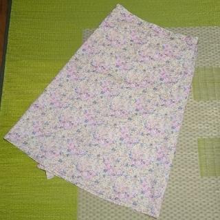 ビームスボーイ(BEAMS BOY)のビームスボーイ 花柄 エプロンスカート 巻きスカート(ロングスカート)