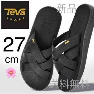 Teva - 値下げ可能 27cm テバ ボヤ スライド ブラック 国内正規品 サンダル