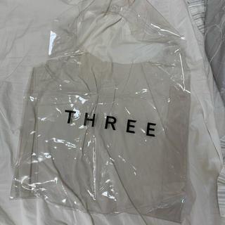スリー(THREE)のTHREE クリアエコバッグ(エコバッグ)