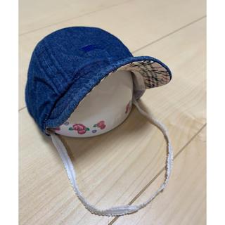 バーバリー(BURBERRY)のバーバーリー kids baby キャップ 帽子 男女兼用 48㌢(帽子)