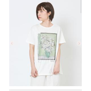 ココディール(COCO DEAL)のゴッホプリントTシャツ(Tシャツ(半袖/袖なし))