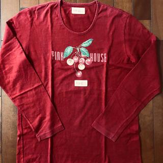 PINK HOUSE - ピンクハウス❤️さくらんぼ柄長袖Tシャツ