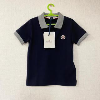 モンクレール(MONCLER)の新品 モンクレールキッズ 5A112 ポロシャツ ネイビー(Tシャツ/カットソー)