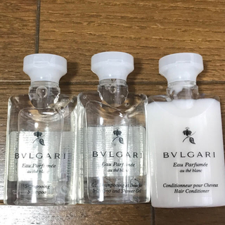 ブルガリ(BVLGARI)の【新品】値下げ!BVLGARI ブルガリ 旅行ミニセット3点(旅行用品)