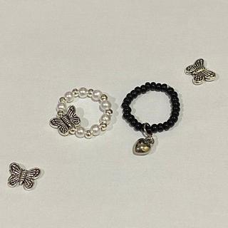 スタイルナンダ(STYLENANDA)のbutterfly ring(リング(指輪))