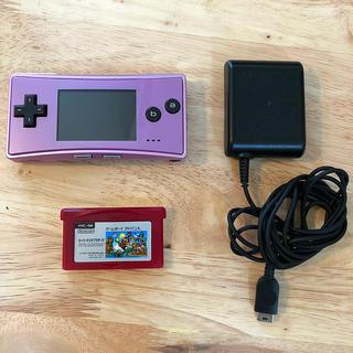 ゲームボーイアドバンス(ゲームボーイアドバンス)のゲームボーイミクロ(携帯用ゲーム機本体)