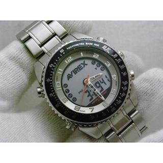 アヴィレックス(AVIREX)のAVIREX デジアナ腕時計 AX004M アビレックス(腕時計(アナログ))