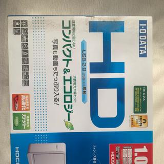 アイオーデータ(IODATA)の外付け ハードデスク 1TB(PC周辺機器)