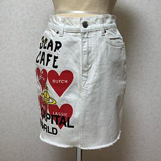 ヴィヴィアンウエストウッド(Vivienne Westwood)のアングロマニアインポートタイトスカート(ミニスカート)