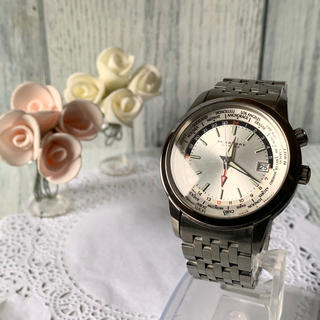 バーバリー(BURBERRY)の【電池交換済み】BURBERRY バーバリー ロンドン 腕時計 ワールドタイム(腕時計(アナログ))