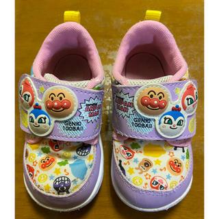 アンパンマン(アンパンマン)のアンパンマンスニーカー 紫 靴  コキンちゃんドキンちゃん  13センチ(スニーカー)