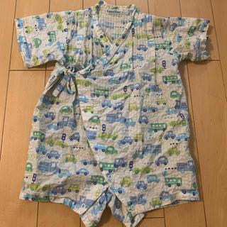 ファミリア(familiar)のファミリア♡甚平 ロンパース 70cm (甚平/浴衣)