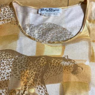 サルヴァトーレフェラガモ(Salvatore Ferragamo)のサルバトーレフェラガモ   パンサーカットソー(Tシャツ(半袖/袖なし))
