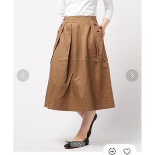 エヘカソポ(ehka sopo)のehkasopo  フレアスカート(ひざ丈スカート)