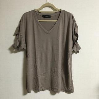 アンビー(ENVYM)のENVYM カットスリーブTシャツ(Tシャツ(半袖/袖なし))