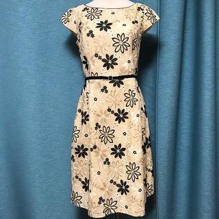 トッカ(TOCCA)のTOCCA 定価61600円 PEARL ドレス トッカ ワンピース 0 刺繍(ひざ丈ワンピース)