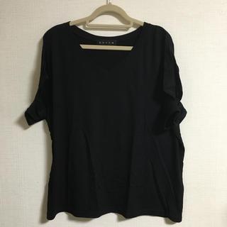 アンビー(ENVYM)のENVYM カッティングTシャツ(Tシャツ(半袖/袖なし))