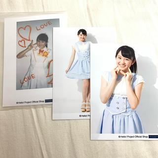 モーニングムスメ(モーニング娘。)の森戸知沙希 ハロショ公式写真(アイドルグッズ)