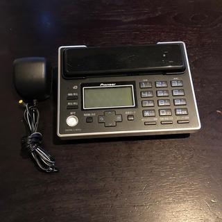 パイオニア(Pioneer)のパイオニア Pioneer コードレス留守番電話 電話機 TF-FV3005-K(その他)
