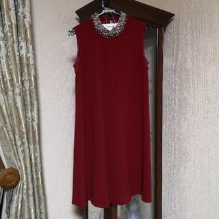 グレースコンチネンタル(GRACE CONTINENTAL)のGRACE CONTINENTAL グレースコンチネンタル ドレス(ミディアムドレス)