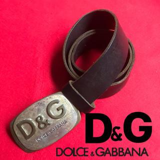 ディーアンドジー(D&G)のベルト ドルチェ&ガッバーナ D&G DOLCE&GABBANA レザーベルト(ベルト)