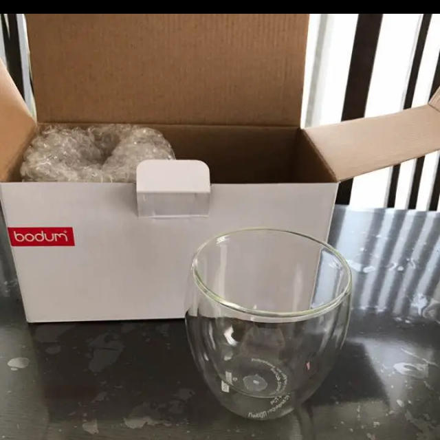 bodum(ボダム)のボダム bodom ダブルウォールグラス 250ml インテリア/住まい/日用品のキッチン/食器(グラス/カップ)の商品写真