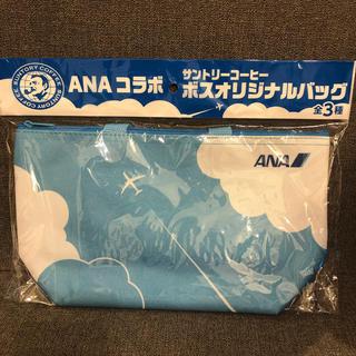 エーエヌエー(ゼンニッポンクウユ)(ANA(全日本空輸))のANA コラボ サントリー ボス オリジナルバッグ(エコバッグ)