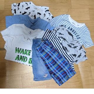 男の子服 110 まとめ売(Tシャツ/カットソー)