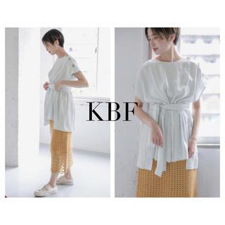 KBF - KBF BIGボタンベルトチュニック