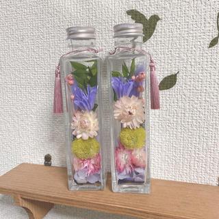 ✨売り切り価格✨ハーバリウム 仏花 パープルピンク タッセル付き(その他)