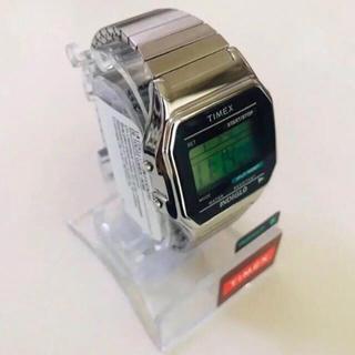 タイメックス(TIMEX)の即納 アメリカ正規買付 timex タイメックス シルバー 腕時計(腕時計(デジタル))