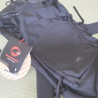 マムート(Mammut)のマムート リュック MAMMUT  黒 18リットル 新品未使用 タグ付き(バッグパック/リュック)