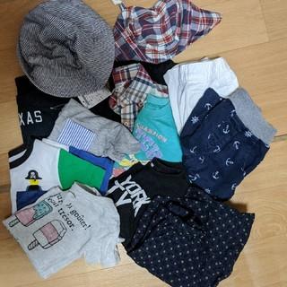 男の子服 100 まとめ売り 甚平あり(Tシャツ/カットソー)