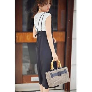 プロポーションボディドレッシング(PROPORTION BODY DRESSING)の完売❤️プロポーションボディドレッシング❤️ラップ風ジャンパースカート(その他)