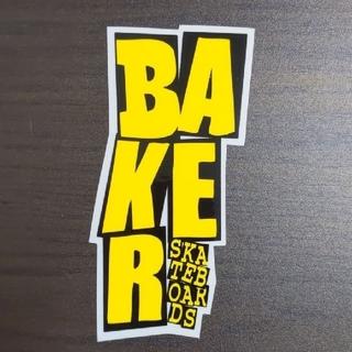 ベイカー(BAKER)の(縦12.5cm横6.2cm)BAKER ステッカー(スケートボード)