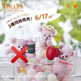 タリーズコーヒー(TULLY'S COFFEE)のふち ベアフル☆(ノベルティグッズ)