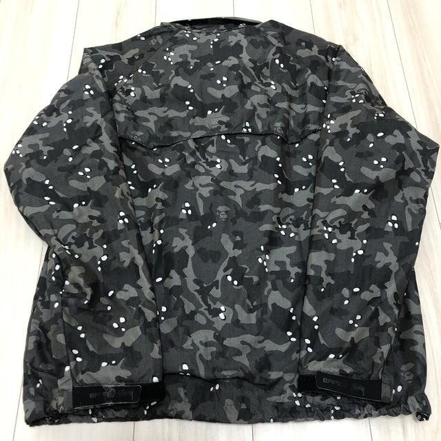 A BATHING APE(アベイシングエイプ)のSTUSSY X BAPE ジャケット 【ステューシー エイプ ベイプ】 メンズのジャケット/アウター(ナイロンジャケット)の商品写真