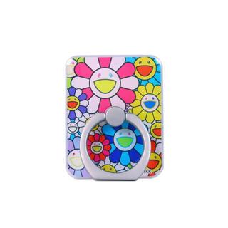 【新品】Flower Smartphone Ring スマホリング(その他)