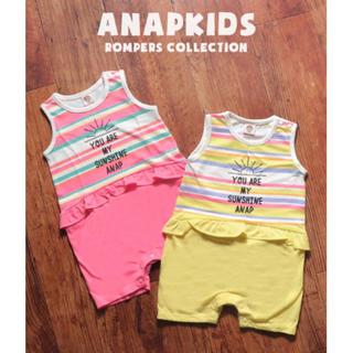 ANAP Kids - ANAPKIDS ロンパース ピンク 70