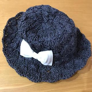 petit main - プティマイン 麦わら帽子 48㎝