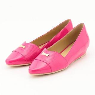 トッカ(TOCCA)のTOCCA トッカ 靴 レインパンプス フラットシューズ(バレエシューズ)
