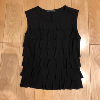 フォクシー(FOXEY)のフォクシー ニューヨーク フリルノースリーブ(Tシャツ(半袖/袖なし))