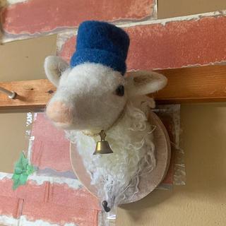 フランフラン(Francfranc)の壁掛け 羊のインテリア(インテリア雑貨)