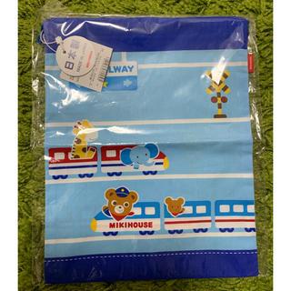 ミキハウス(mikihouse)の☆ミキハウス プッチくん 巾着袋☆給食 お弁当(弁当用品)